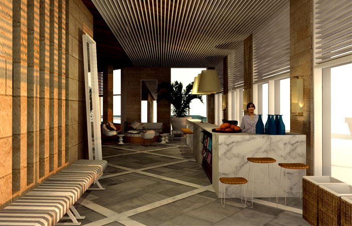 hotel dan spa –   project in progress