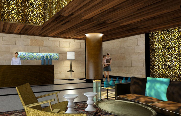 hotel haneviim – project in progress