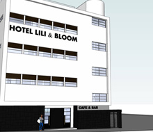 hotel lili & bloom – project in progress